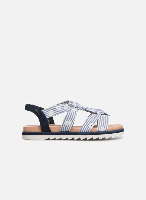 Sandales et nu-pieds Pepe jeans Zoe Flowers Bleu vue derrière