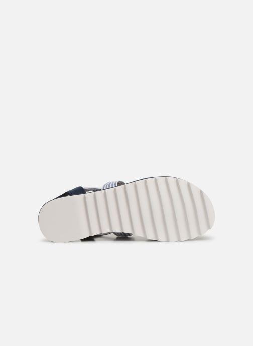 Sandales et nu-pieds Pepe jeans Zoe Flowers Bleu vue haut