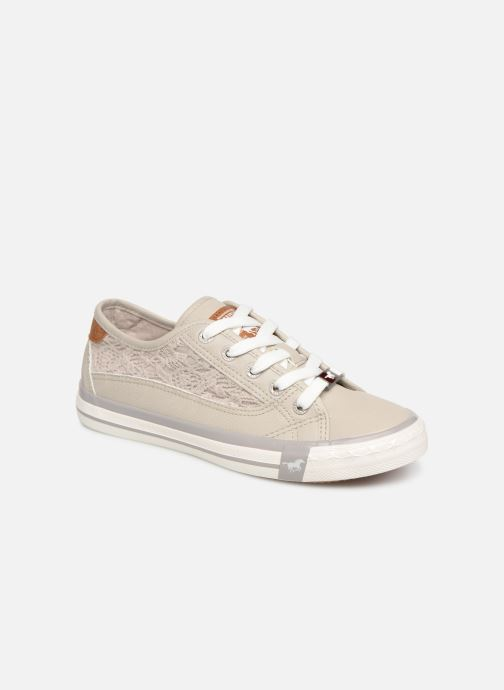 Baskets Mustang shoes Apolline Gris vue détail/paire