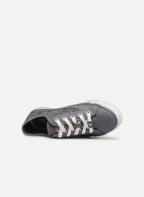 Sneakers Mustang shoes Apolline Azzurro immagine sinistra