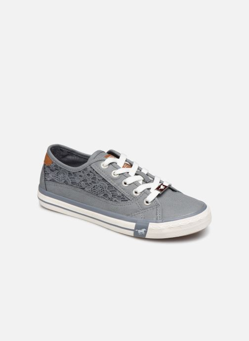 Sneakers Mustang shoes Apolline Blauw detail