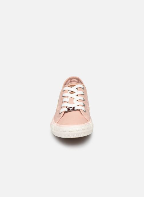Baskets Mustang shoes Apolline Rose vue portées chaussures