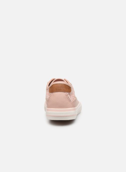 Baskets Mustang shoes Apolline Rose vue droite