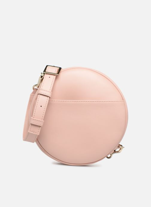 Handbags Louvreuse KASIMIR MINI LEATHER Pink detailed view/ Pair view