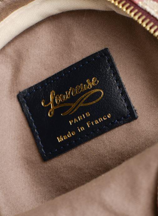 Handtassen Louvreuse KASIMIR MINI CANVAS Roze achterkant