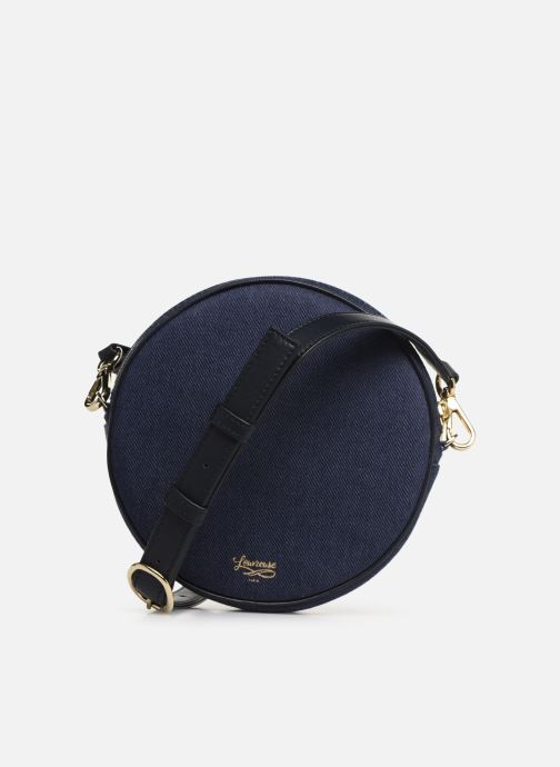 Sacs à main Louvreuse KASIMIR MINI CANVAS WAISTBAG Bleu vue face