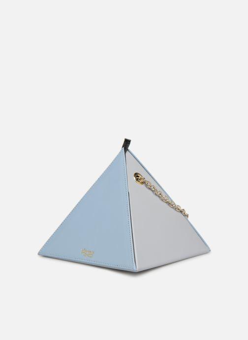 Handtassen Louvreuse CLEO LEATHER Blauw model
