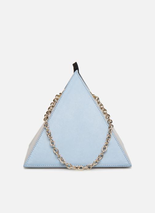 Sacs à main Louvreuse CLEO LEATHER Bleu vue face