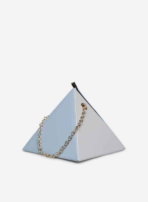 Sacs à main Louvreuse CLEO LEATHER Bleu vue droite