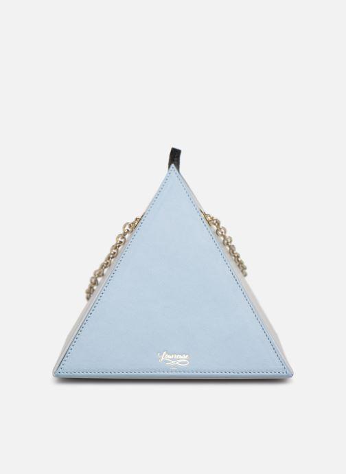 Handtassen Louvreuse CLEO LEATHER Blauw detail