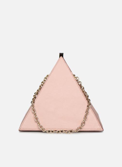 Handtassen Louvreuse CLEO LEATHER Roze voorkant