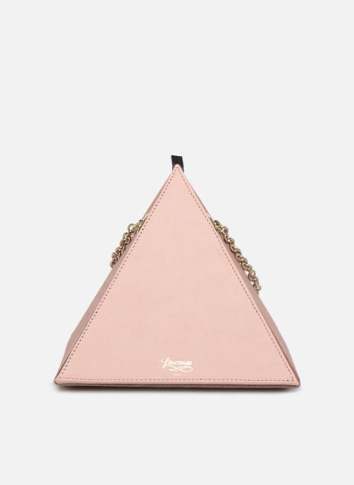 Handtassen Louvreuse CLEO LEATHER Roze detail