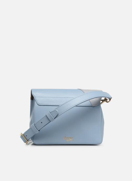 Bolsos de mano Louvreuse EUGENE LEATHER Azul vista de frente