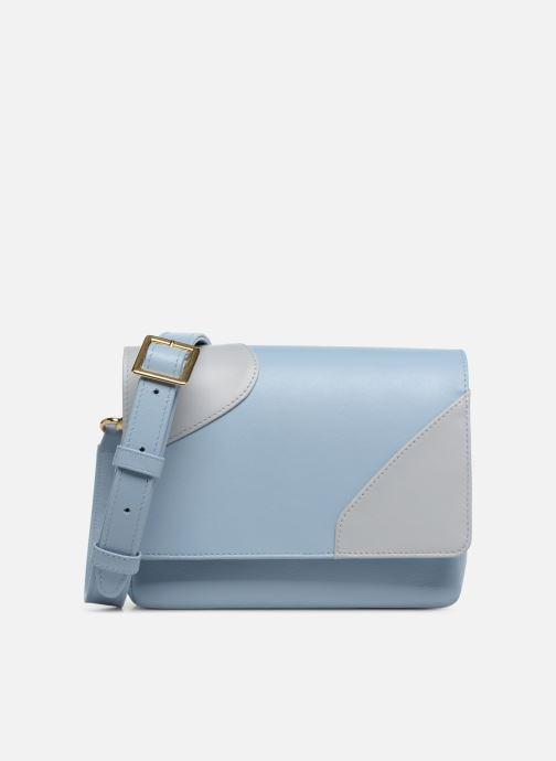 Bolsos de mano Louvreuse EUGENE LEATHER Azul vista de detalle / par