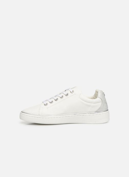 Baskets Mustang shoes Lyna Blanc vue face