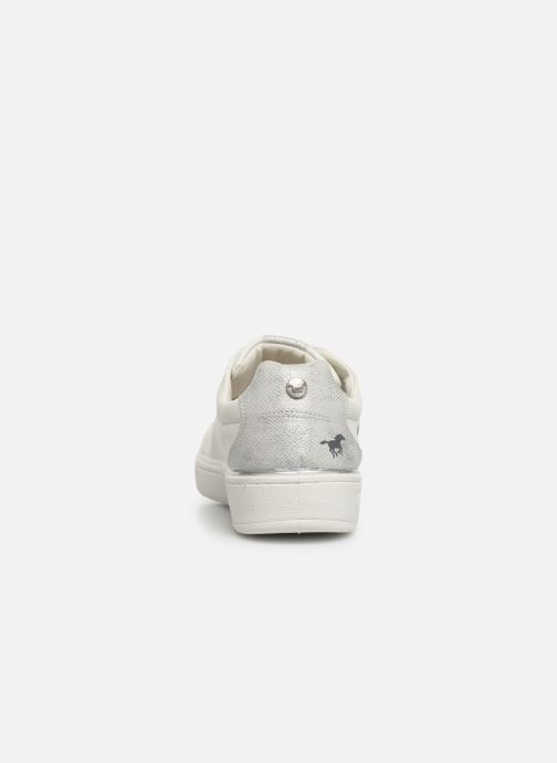 Baskets Mustang shoes Lyna Blanc vue droite