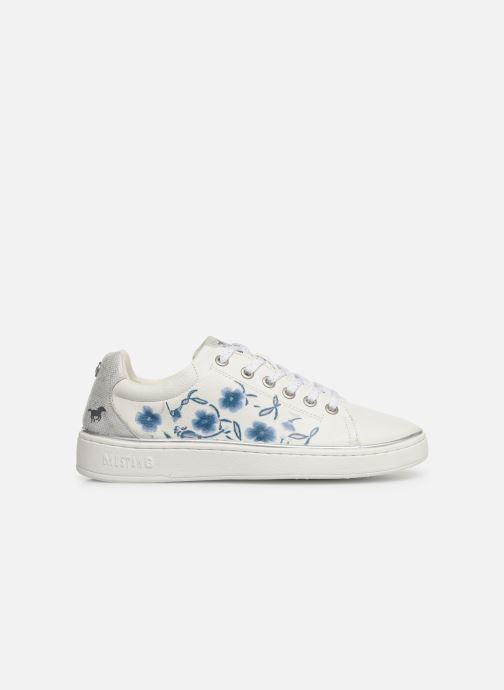 Sneakers Mustang shoes Lyna Wit achterkant