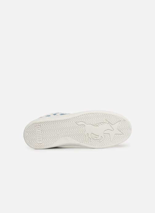 Baskets Mustang shoes Lyna Blanc vue haut