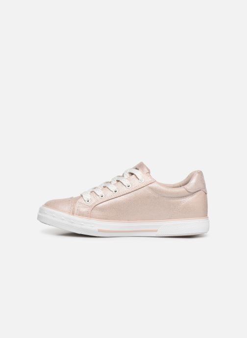Trainers Mustang shoes Melina Pink front view