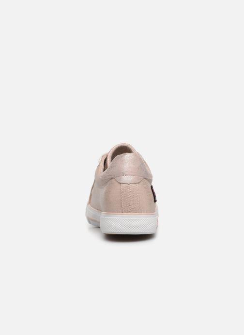 Sneakers Mustang shoes Melina Roze rechts