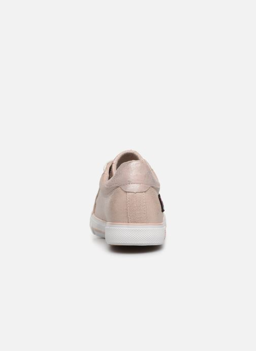 Trainers Mustang shoes Melina Pink view from the right
