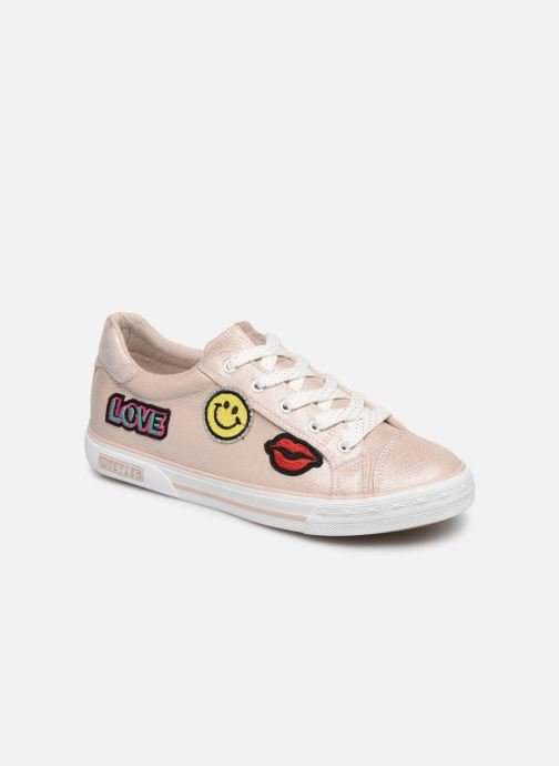 Trainers Mustang shoes Melina Pink detailed view/ Pair view