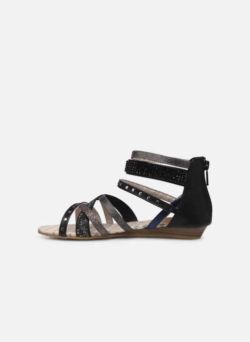 Sandales et nu-pieds Mustang shoes Romane Noir vue face