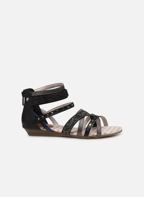 Sandalen Mustang shoes Romane Zwart achterkant