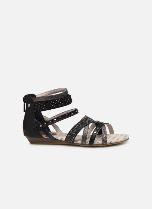 Sandales et nu-pieds Mustang shoes Romane Noir vue derrière