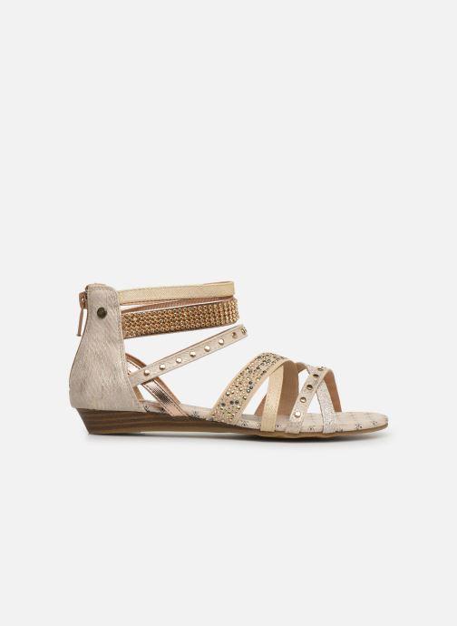 Sandales et nu-pieds Mustang shoes Romane Or et bronze vue derrière