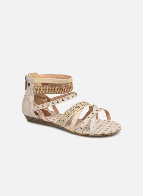 Sandales et nu-pieds Mustang shoes Romane Or et bronze vue détail/paire