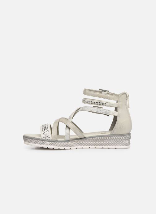 Sandals Mustang shoes Sixtine Silver front view