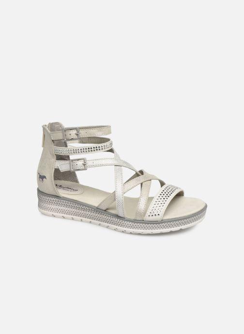 Sandales et nu-pieds Mustang shoes Sixtine Argent vue détail/paire