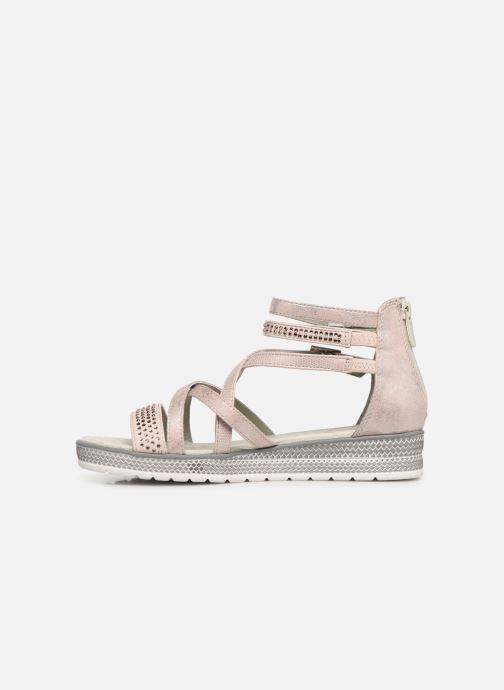 Sandales et nu-pieds Mustang shoes Sixtine Rose vue face