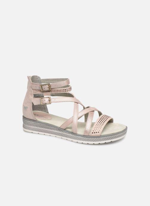 Sandales et nu-pieds Mustang shoes Sixtine Rose vue détail/paire