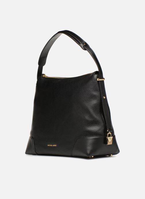 Handtassen Michael Michael Kors Crosby LG Shoulder Zwart model