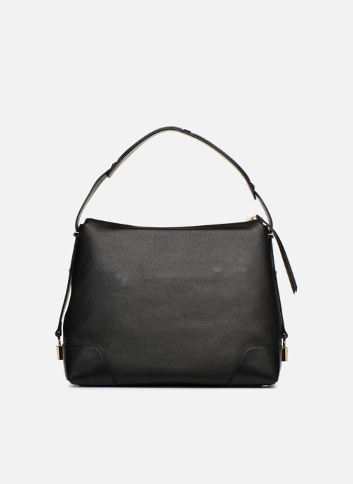 Sacs à main Michael Michael Kors Crosby LG Shoulder Noir vue face