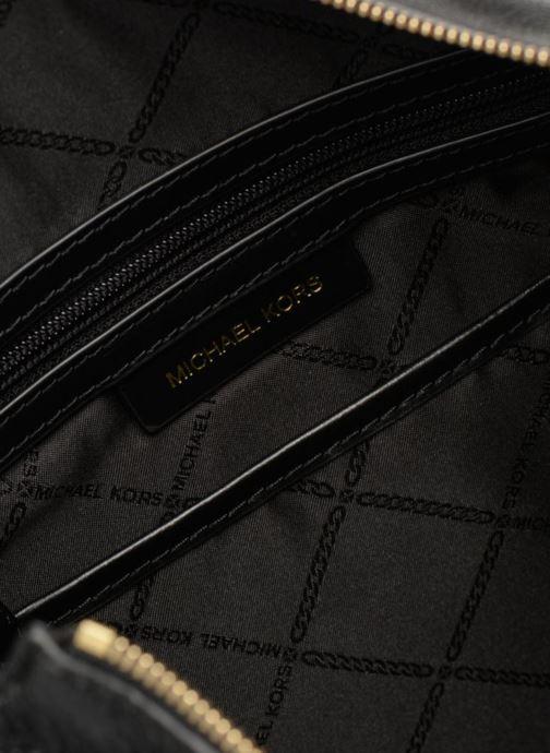 Handtassen Michael Michael Kors Crosby LG Shoulder Zwart achterkant