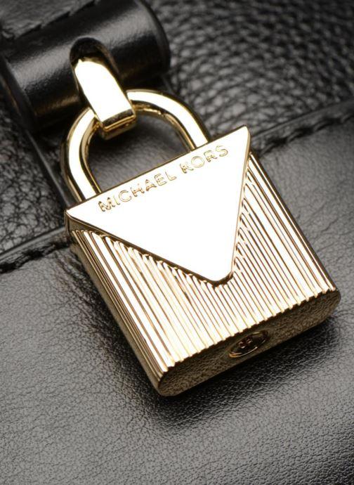 Handtassen Michael Michael Kors Crosby LG Shoulder Zwart links