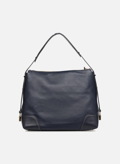 Sacs à main Michael Michael Kors Crosby LG Shoulder Bleu vue face