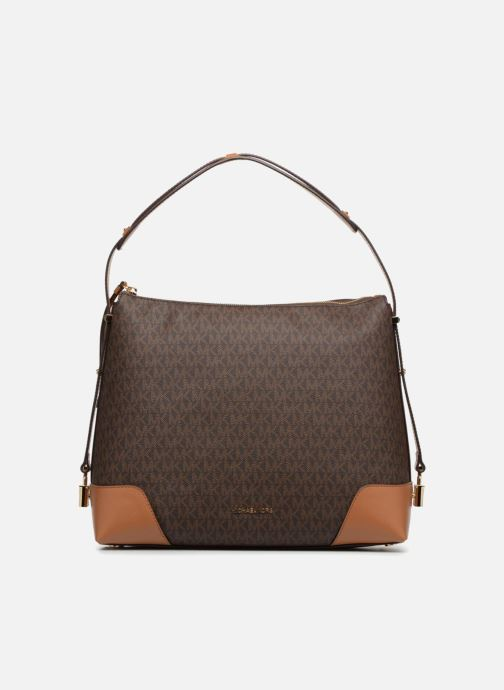 Sacs à main Michael Michael Kors Crosby LG Shoulder Marron vue détail/paire