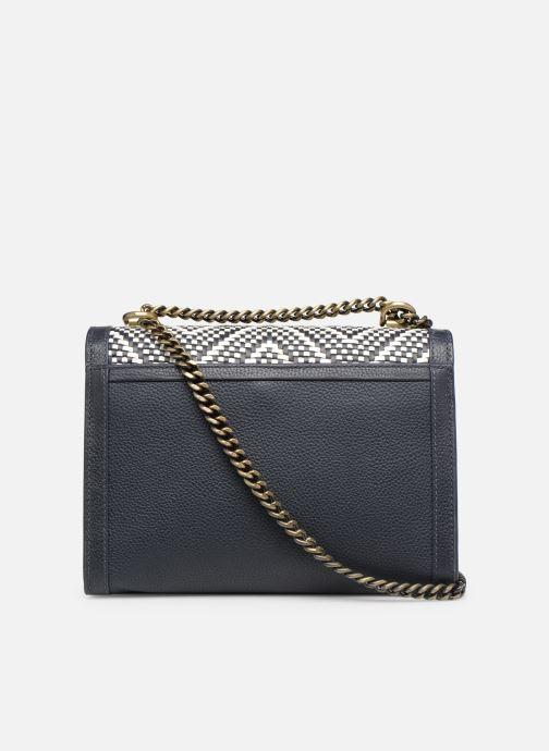 Handtaschen Michael Michael Kors Whitney LG Shoulder blau ansicht von vorne