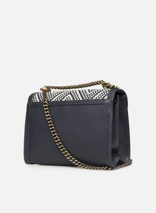 Handtaschen Michael Michael Kors Whitney LG Shoulder blau ansicht von rechts