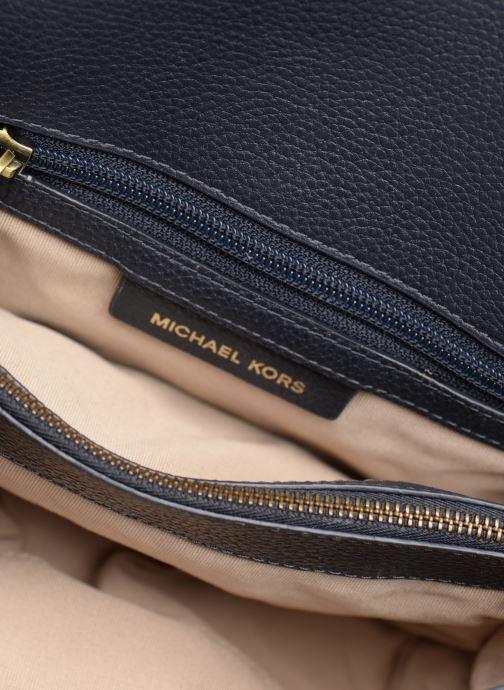 Sacs à main Michael Michael Kors Whitney LG Shoulder Bleu vue derrière