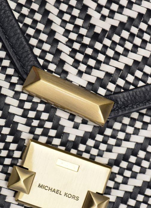 Handtaschen Michael Michael Kors Whitney LG Shoulder blau ansicht von links