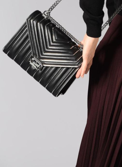 Sacs à main Michael Michael Kors Whitney LG Shoulder Noir vue bas / vue portée sac