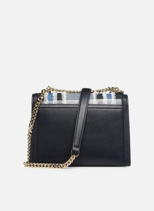 Bolsos de mano Michael Michael Kors Whitney LG Shoulder Azul vista de frente