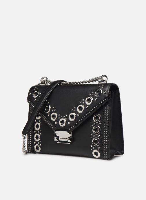 Handtaschen Michael Michael Kors Whitney LG Shoulder schwarz schuhe getragen