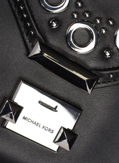 Bolsos de mano Michael Michael Kors Whitney LG Shoulder Negro vista lateral izquierda