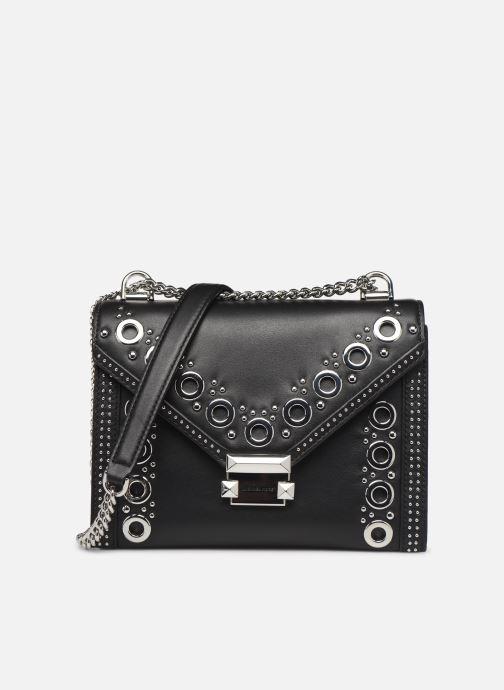 Handtassen Michael Michael Kors Whitney LG Shoulder Zwart detail